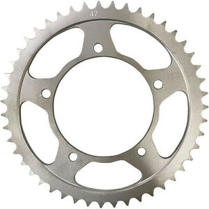 Parts Unlimited Rear Suzuki Sprocket - 47-Tooth Silver 1210-2148