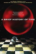 A BRIEF HISTORY OF TIME 27x40 DS Original Movie Poster 1991 Stephen Hawking Roll