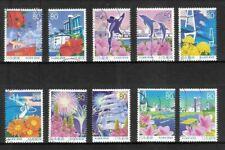 R708 Japanese stamp 2007 Nagoya Port: Antarctic research ship used Defective
