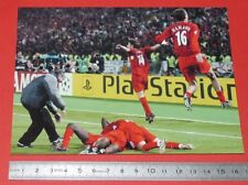 PHOTO CARTE L'EQUIPE FOOTBALL FINALE CHAMPIONS LEAGUE 2005 MILAN AC LIVERPOOL