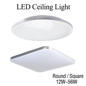 LED Ceiling Light Square/Round 12W~56W Rectangle/Oyster Lamp Modern Cool/Warm