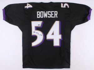 Tyus Bowser Signed Baltimore Ravens Jersey (TriStar Hologram) 2nd Rnd Pick 2017