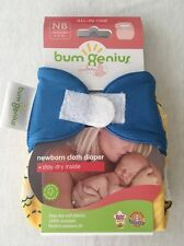 NIP bumgenius newborn Spence. Beautiful Upright Bum Placement.