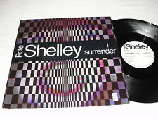 """Pete Shelley """"I Surrender / Need A Minit"""" 1986 Synth-Pop, 12"""" Single, VG+, UK"""