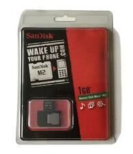 SanDisk Memory Stick Micro (M2) 1GB Adapter for Sony Ericsson Phones BUNDLE OF 5