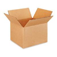 100 7x7x5 Cardboard Paper Boxes Mailing Packing Shipping Box Corrugated Carton