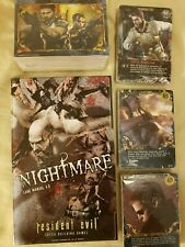 RESIDENT EVIL DECK BUILDING GAME NIGHTMARE EXPANSION (NEW), CARD GAME, NO BOX