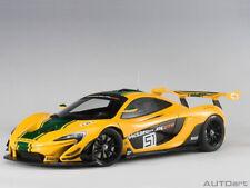 AUTOart Geneva Motor Show 2015 McLaren P1 GTR #51 1:18 81544 Yellow