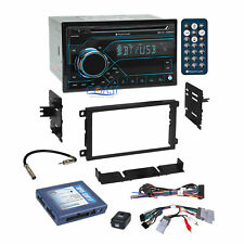 Planet Audio Usb Bluetooth Stereo Dash Kit Bose Onstar Harness for Gm Chevrolet