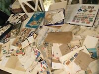 WORLD STAMPS glory  BOX EVERYTHING IN PHOTO 6kg unchecked messy lot