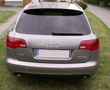 Audi A6 C6 4F 04-11 Rear Roof Spoiler ABT style cover Avant Allroad S6 RS6 door