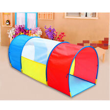 4.3ft Pop-up Crawl Through Play Tunnel Kids Toddlers Adventure Discovery Toy