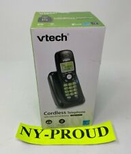 Vtech DECT 6.0 Cordless Phone with Caller ID & Call Waiting - Black - NEW