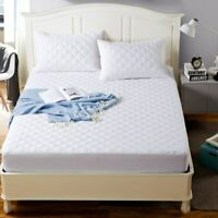 EXTRA DEEP WATERPROOF QUILTED MATTRESS PROTECTOR TOPPER SINGLE DOUBLE SUPER KING