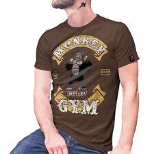 Monkey Gym Kraftsport Bodybuilding Muscel Muskel Show - T Shirt #27268