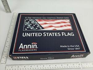 4x6 Annin American Flag Solar Max Nylon (Nyl-Glo 002220) Made in The USA