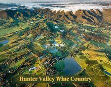 Australia - HUNTER VALLEY WINE COUNTRY - Travel Souvenir FLEXIBLE Fridge MAGNET