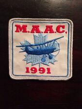 "Vintage MAAC Model Aeronautics 1991 4"" Patch REmote Control Model Airplane RC"