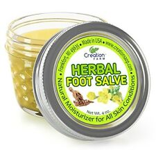 Foot Salve 4 OZ - Herbal Foot Salve - Foot Balm - Bálsamo de Pies de Hierbas
