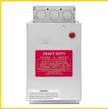PAM-900HD -  4-8 HP - 220 VAC - PHASE-A-MATIC PHASE CONVERTER