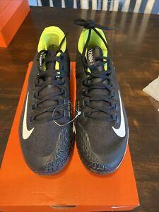 Nike Air Zoom Zero HC  Tennis Shoes Black Volt Yellow Sneakers 9