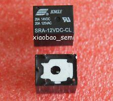 10PCS SRA-12VDC-CL DC 12V Coil 20A PCB General Purpose Relay 5 Pin SPDT