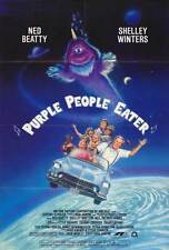 PURPLE PEOPLE EATER Movie POSTER 27x40 Neil Patrick Harris Kareem Abdul Jabbar