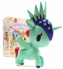 "Tokidoki UNICORNO SERIES 5 LIBERTY 3"" Mini Vinyl Figure Toy Blind Box"