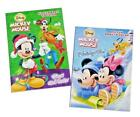 Mickey Mouse  Friends Christmas Coloring Book Holiday Activity Books Set of 2
