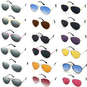 Sunglasses Fashion 80s Retro Style Designer Shades Mens Womens Ladies Aviatr