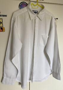 VILEBREQUIN white linen shirt size XL **bargain**