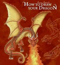 HOW TO DRAW YOUR DRAGON - GUINOT, SERGIO - NEW PAPERBACK BOOK