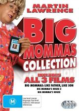 Big Momma's House Collection 1,2,3 Like Father Like Son (3x DVD,M,R4) *Ships Qik