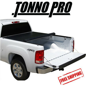 Tonno Pro Lo-Roll Soft Tonneau Cover Fits 2015-2017 GMC Canyon 6' Bed