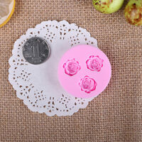 DIY 3D Flower Fondant Cake Chocolate Sugarcraft Mold Cutter Silicone Mould Nice