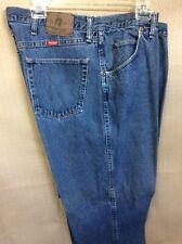 Wrangler  Regular Fit Cowboy Blue Jeans Mens 42 X 30