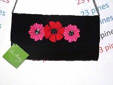 VERA BRADLEY SOLD OUT SHOULDER CELEBRATION CLUTCH CHEERY BLOSSOMS NWT