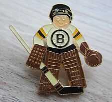Hockey su ghiaccio NHL Boston Bruins-Hockey su Ghiaccio Giocatore Pin-circa 20 anni-RAR
