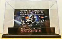 BATTLESTAR GALACTICA Vintage Display Stand Style Diorama Figures Case-case only