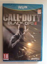 Nintendo Wii U Call Of Duty Black Ops 2 New Sealed