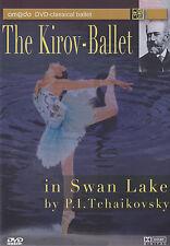 [BRAND NEW] DVD: SWAN LAKE: TCHAIKOVSKY