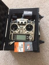 Futaba 9C Super T9CHP PCM Helicopter R/C Transmitter + 2 receivers CASE INCLUDED
