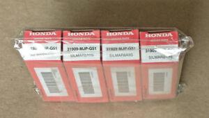2016-2021 GENUINE HONDA NGK SPARK PLUG SILMAR8A9S # 31909-MJP-G51 LOT OF 4