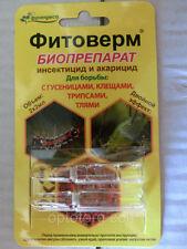 Insecticide Acaricide Bio Fitoverm 2*2 ml / Fertilizer/