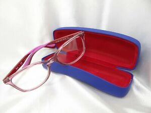RAY BAN RB 1586 3777 in Rose 49-16-130  Eyeglass Frames Authentic with Case K07B