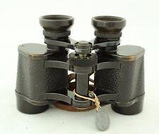 antique prism binoculars Carl Zeiss Jena, Turactem 8x24 & case, pre Wwii ca.1920