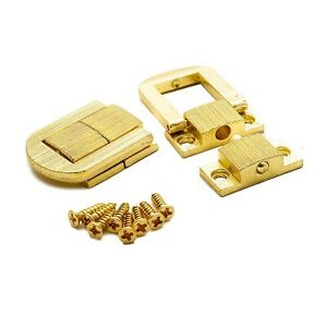 WCF Brass Plated Box Catches
