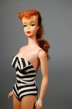 "New Listing1961 #5 Redhead ""Titian"" Ponytail Barbie doll All Original"