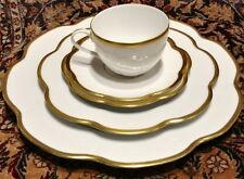 Royal Limoges Nymphea Margaux Gold 5 pc Place Setting