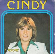 """7"""" 45 TOURS FRANCE C. JEROME """"Cindy / C'est Défendu"""" 1976"""